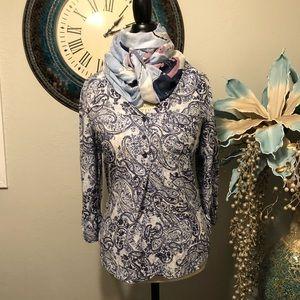Fred David tunic blouse